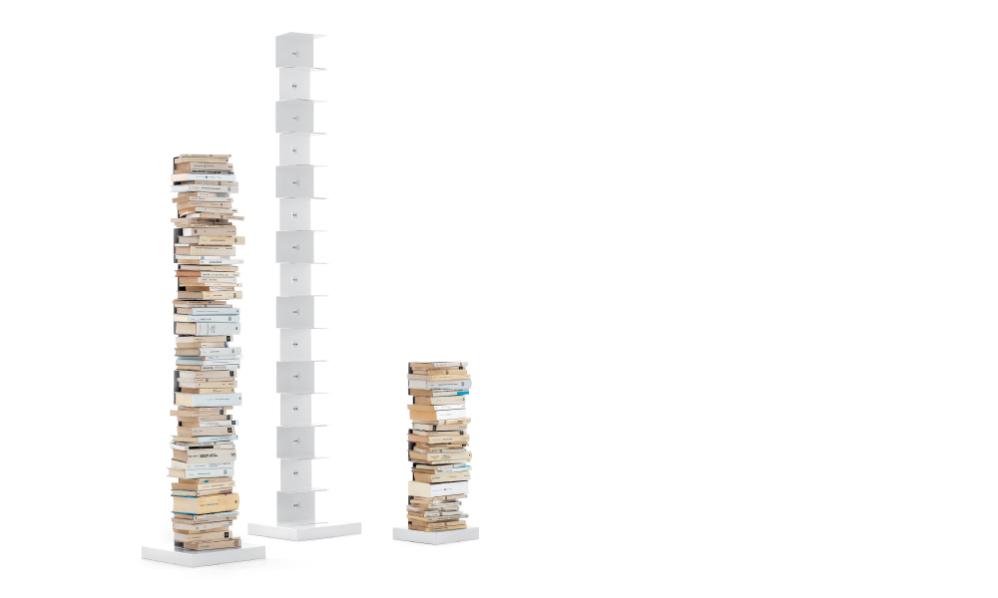 La bibliothèque design Ptolomeo de Bruno Rainaldi