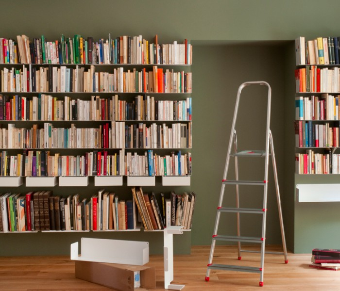 biblioth que mauro canfori. Black Bedroom Furniture Sets. Home Design Ideas