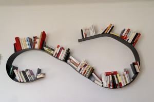 étagère bookworm de Ron Arad pour Kartell