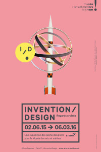 Invention / Design, l'affiche de l'expo