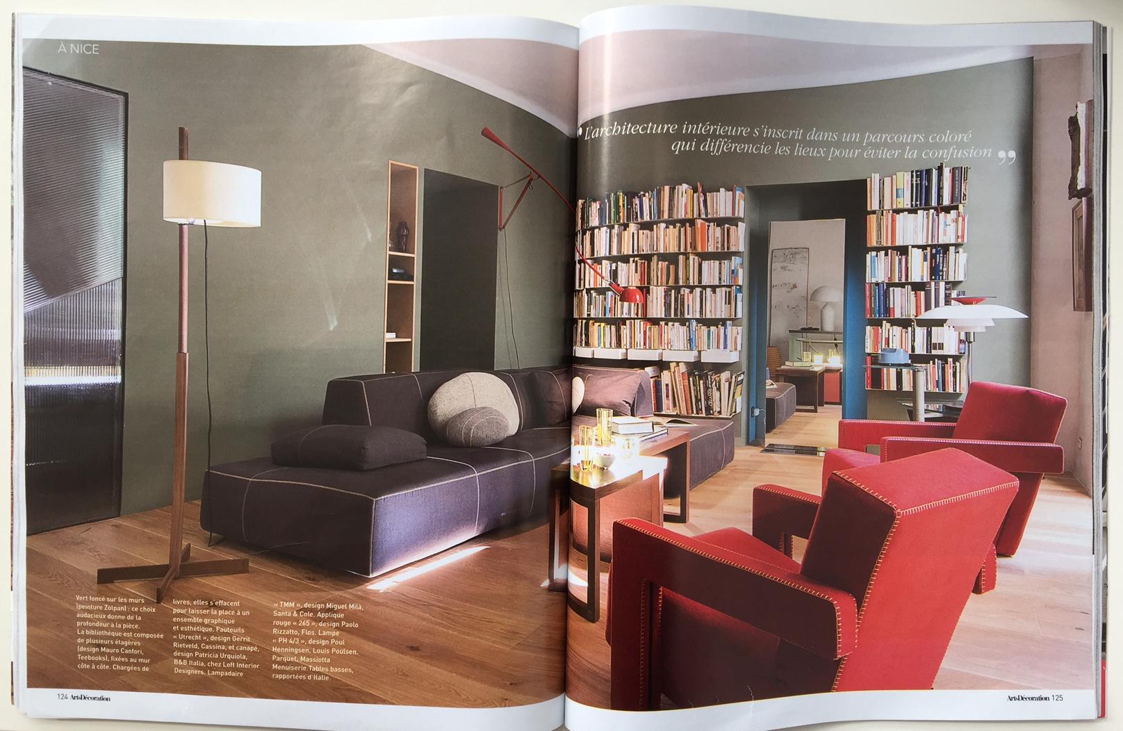 Magazine Art Et Décoration un loft au cœur du design » : retour sur le reportage art